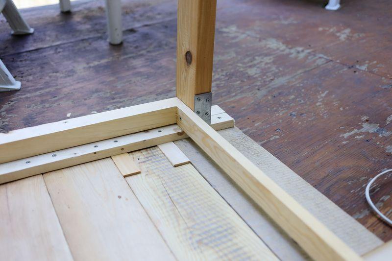 patio table diy ruban cassette. Black Bedroom Furniture Sets. Home Design Ideas